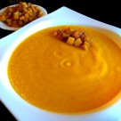 Puré de calabaza al curry