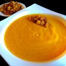 Puré de calabaza al curry
