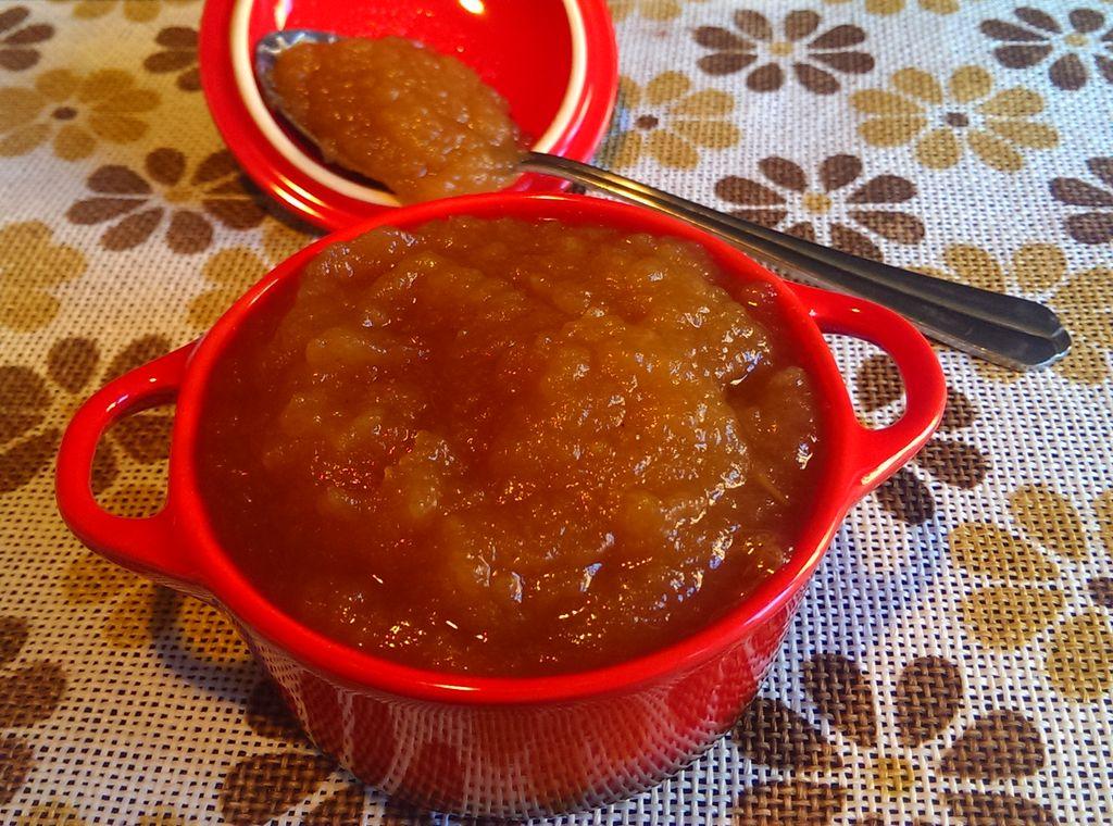 Compota de manzana y canela