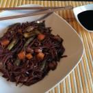 Soba noodles con veruduras