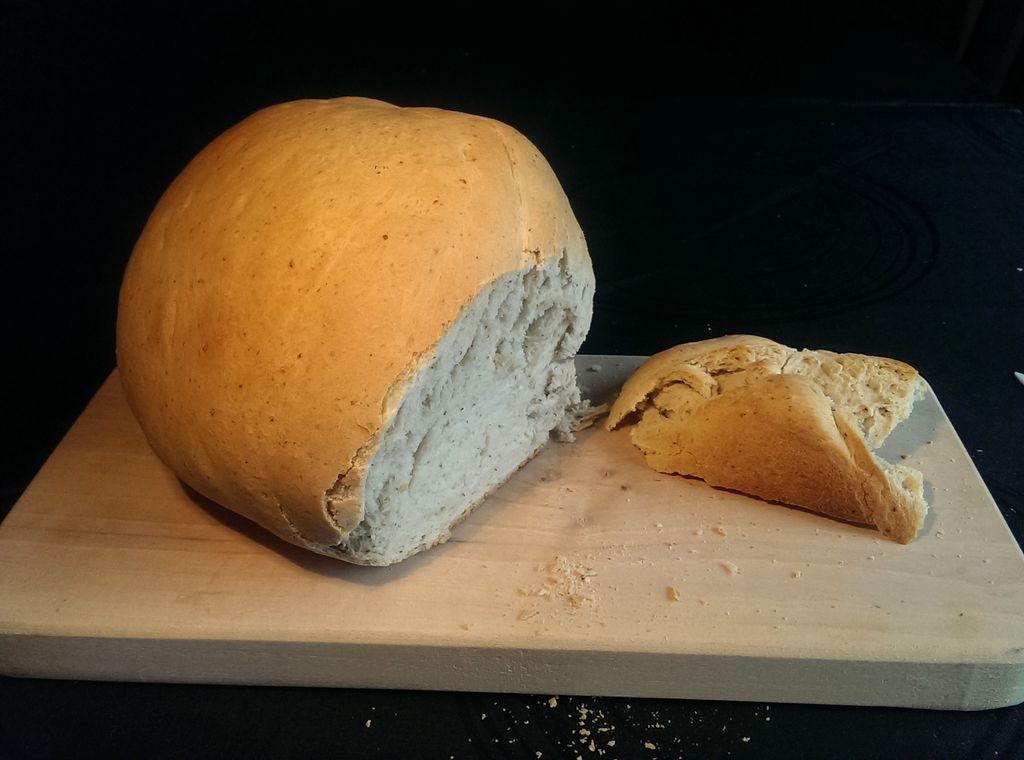 Pan de ajo con orégano