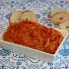 Hummus de tomates secos