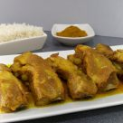 Costillas de cerdo con curry y miel