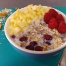 Porridge frío u Overnight oats