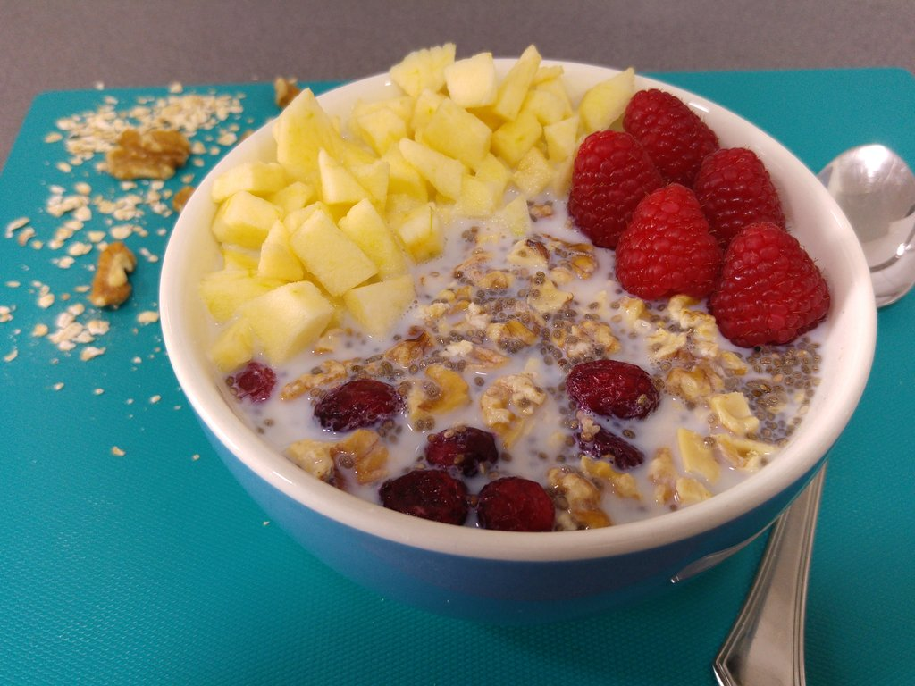 Porridge frío u Overnight Oats