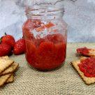 Mermelada de fresas exprés (en microondas)