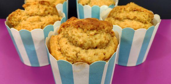 Muffins de turrón de Jijona
