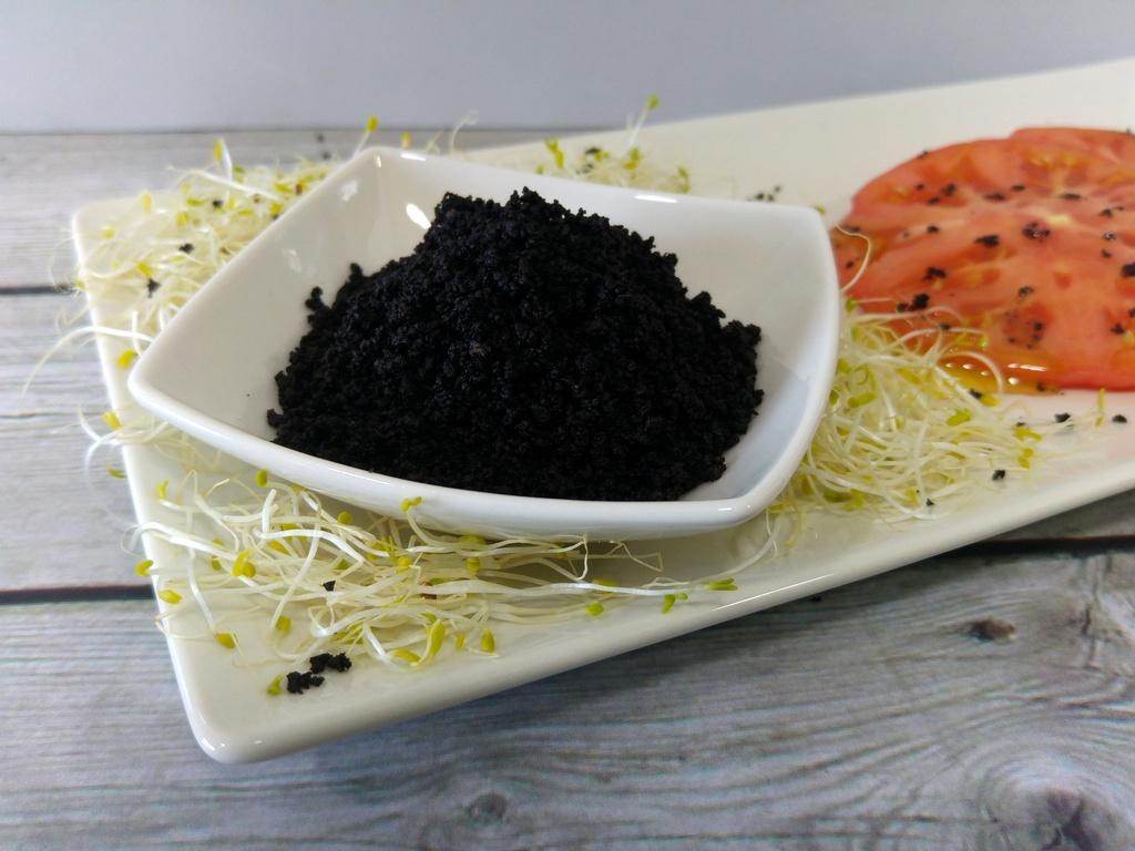 Sal de aceitunas negras