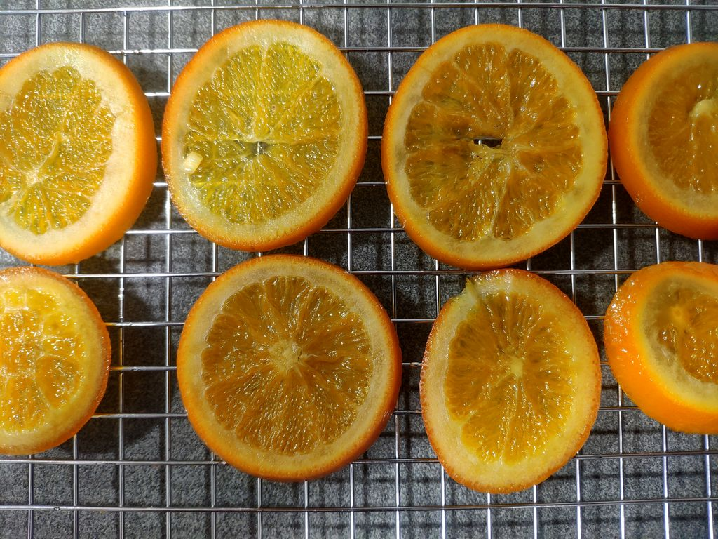 Naranja confitada